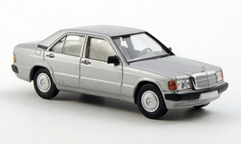 H0 | Brekina Starmada 13205 - Mercedes 190 E (W201), zilver