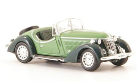 H0 | Ricko 38349 - Wanderer W25K Roadster,green/dark green, 1936