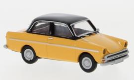 H0 | Brekina 27719 - DAF 750,lichtgeel/zwart, 1960