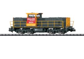N | Minitrix 16062 - Railion, Diesellocomotief serie 6400.