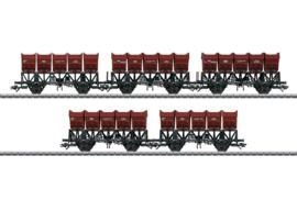 H0 | Märklin 46353 - Set kiepbakken  wagens F-z 120