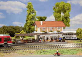 H0 | Faller 131544 -  Station Ebelsbach