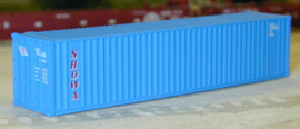 N | DE Luxe 5390 - set 40' containers Showa Line / corrugated