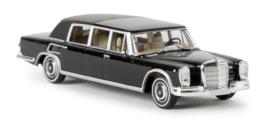 H0 | Brekina Starmada 13010 - Mercedes 600 Landaulet, zwart