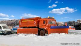 H0 | Kibri 15219 -MAN motorway snowplough truck with side plough