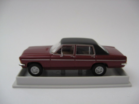 H0 | Brekina 20717 - Opel Diplomat B, dark red metallic/black
