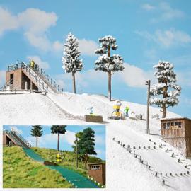 H0 | Busch 1180 -Ski Jumping Hill