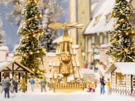 H0 | NOCH 14395 - Kerstmarktpiramide