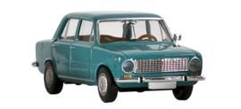 H0 | Brekina 22404 - Fiat 124, turquoise.