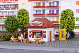 "N | Vollmer 47626 - Kiosk ""Hühner Hugo"""