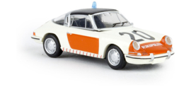H0 | Brekina 16266 - Porsche 911 G Targa, Rijkspolitie 20, 1976, TD (NL)