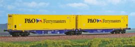 H0 | ACME 40287 - XRail, Containerwagen Sggmrss '90