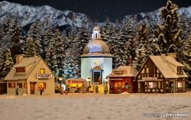 H0 | Vollmer 42413 - Kerstdorp met verlichting