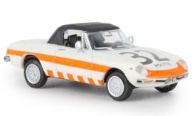 H0   Brekina 29610 - Alfa Romeo Spider, Politie 32, 1969, gesloten, TD (NL)