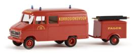 "H0 | Brekina 35611 - Opel Blitz ""Falck Korrosionsvogn"""