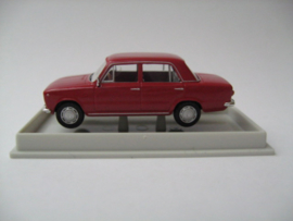 H0 | Brekina 22401 - Fiat 124, red.