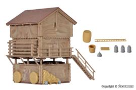 H0   Kibri 38035 - Stable and barn