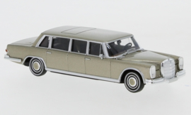 H0 | Brekina Starmada 13004 - Mercedes 600 Pullman Limousine, gold, without cardboard slipcase