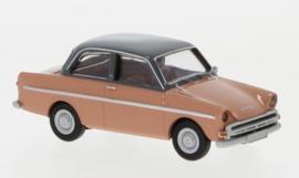H0   Brekina 27725 - DAF 750, lichtrood/donkergrijs, 1960