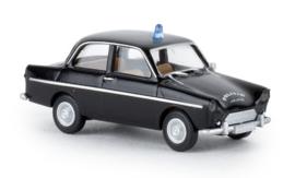 H0 | Brekina 27722 - DAF 600, zwart, Politie, 1960 (NL)