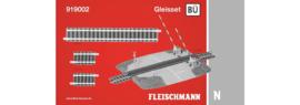 N | Fleischmann 919002 - Railset overweg