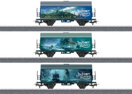 "H0   Märklin Start up 44821 - set goederenwagens ""verschillende landen"