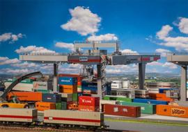 H0 | Faller 120290 - Containerbrücke