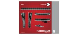 N | Fleischmann 9190 - Railset C