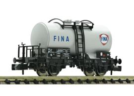 N | Fleischmann 841012 - Tank wagon FINA that operates for the NS