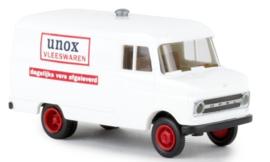 H0 | Brekina 35719 - Opel Kasten B, Unox Vleeswaren (NL)
