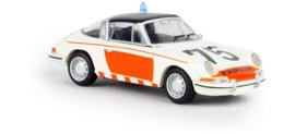 H0 | Brekina 16267 - Porsche 911 G Targa, Rijkspolitie 75, 1976, TD (NL)