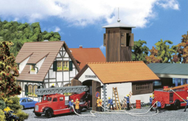 H0 | Faller 131240 - Brandweergarage