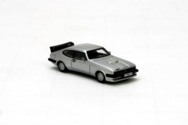 H0 | NEO 87241 - 1981 Ford Capri III Turbo, Silver Metallic