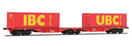 H0 | ACME 40350 -DB AG, Containerwagen Sggrss 80