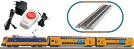 H0 | Piko 97939 - Startset NS BR 185 met 2 dubbeldekkers (DC)