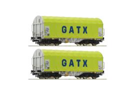 H0 | Roco 76055 - Set Shimmns GATX