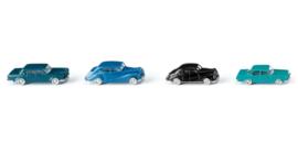 N | Wiking 091404 - Vier klassische Personenwagen