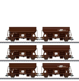 46308 - Rail Cargo  Austria, Set zwenkdakwagens