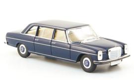 H0 | Brekina Starmada 13400 - Mercedes 220 D lang (W115), blauw zonder omkarton