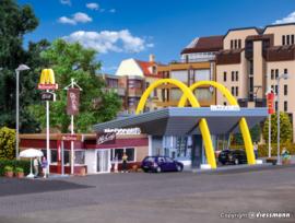 H0 | Vollmer 43635 - McDonald's restaurant met McCafe