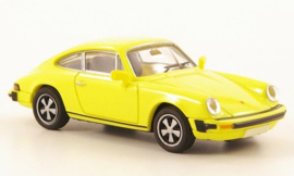 H0 | Brekina 16306 - Porsche 911 (G-series), yellow.