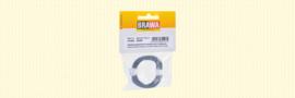 Brawa 32407 - Flexibel Decoderdraad, 0,05 mm², grijs