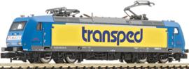N | Fleischmann 738704 - TX-Logistic, Elektrische locomotief BR 185