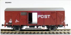 H0   Exact Train EX20903 - NS, Gs 1410 Post met bruine luchtroosters