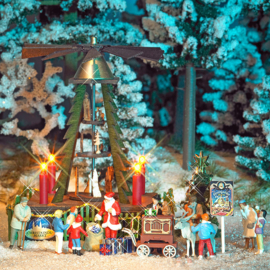 H0 | Busch 1415 - Kerstpyramide