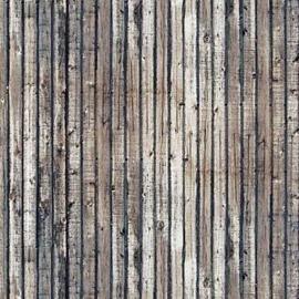 H0 | Busch 7420 - 2 Decorplaten »Verweerde houten planken«