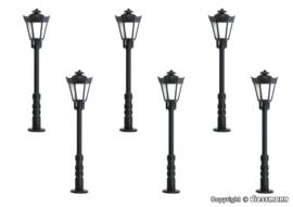 N | Viessmann 64706 - Parklantaarns, LED warmwit, 5+1