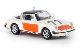 H0 | Brekina 16359 - Porsche 911 G Targa, Rijkspolitie 77, 1976, TD (NL)