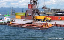 H0 | Kibri 38522 - Duwbak voor stortgoederen of containers
