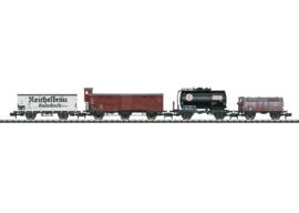 N | Minitrix 15418 - Set goederenwagens